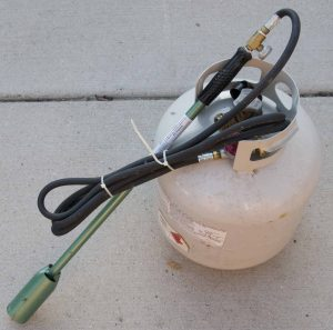 picture of propane weed torch