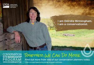 CSP poster encourage landowners to participate.