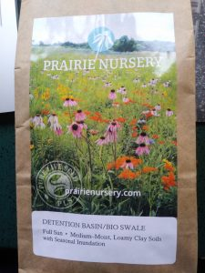 Image of native seed mix bag