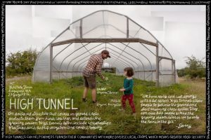 Meme featuring high tunnel hoop house.