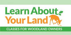 Logo for Learn About Your Land webinars.